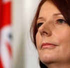 Gillard Distances from Slipper and Thompson Scandal